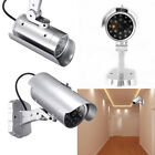 Sliver Security Dummy IR Simulation Surveillance Camera CCTV Flashing LED Light