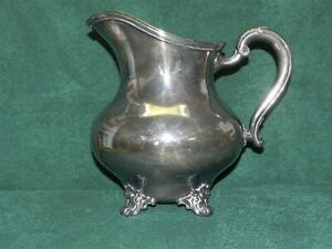 Reed & Barton Regent 1941 Silver Plate Water Pitcher_4097