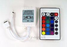 24 Key IR Remote Wireless Controller 12V 6A For 3528 5050 RGB LED Strip Light