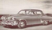 Advertising Postcard 1952 Studebaker Land Cruiser V-8~130032