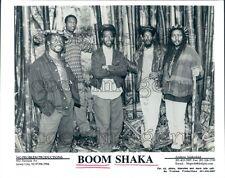 1996 Boom Shaka Reggae Band Press Photo