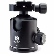 Benro B4 Ball Head - Testa Fotografica a Sfera con Frizione con Innesto Rapido