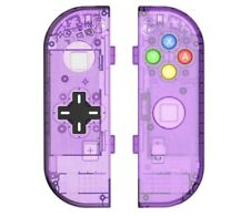 Nintendo Switch Controller Joy-Con Housing Shell Case Replacement D-PAD Purple