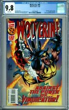 WOLVERINE 95 CGC 9.8 WP GUARDIAN GENESIS NEW NON-CIRCULATED CASE Marvel Comics