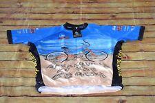 Peak 1 Bike Cycling MS 150 Jersey 2012 Top Banana Breakaway To The Beach SZ XL