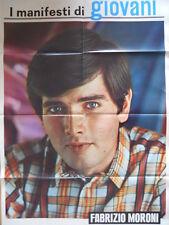 Poster Manifesti di GIOVANI 1967 73x50 cm - FABRIZIO MORONI [D39-98]