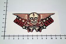 SPEED KILLS Aufkleber Sticker Skull Kolben Rods Tattoo Wings V8 Stars US KK-0692