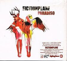 CD album: Fictionplane: paradiso. XIII bis 2 cds + 1 dvd. D3