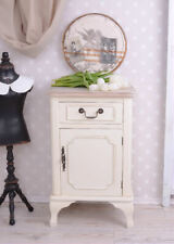 Nostalgic Nightstand White Dresser Country Style Night Table Wooden Dresser New