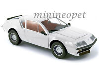 NOREV 185142 1981 81 RENAULT ALPINE A310 1/18 DIECAST MODEL CAR WHITE