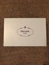 50f3320ccbc6c1 Authentic PRADA blue empty shoe box/gift box (8 in X 12 in X