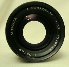 197mm 197 f/6.2 ROKKOR-QF LENS, 79mm THREAD Exc Cond.