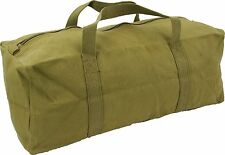 HIGHLANDER TB001 HEAVY DUTY MILITARY COTTON CANVAS TOOL BAG 45CM 18""