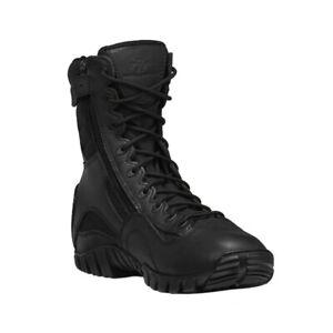 "Belleville TR960Z Men Black 8"" Tactical Research Khyber Hot Weather Zip Up Boot"
