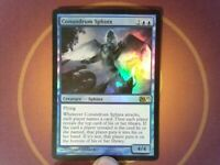 Foil Conundrum Sphinx - M11 - Magic the Gathering mtg tracked