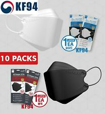 10 PCS [All Keeper KF94] Face Mask Made in Korea Medical Respirators Protective