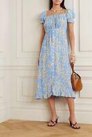 FAITHFULL THE BRAND Ina Midi Dress in Le Bon Floral S NWOT $179