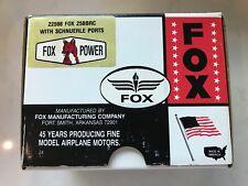 FOX .25 BBRC Nitro Model Airplane Engine Motor w/ Schnuerle Ports #22598 RC