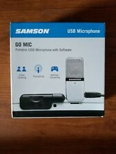 Samson Go Mic Condenser Wired - USB Professional Microphone