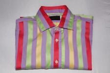 Duchamp Regular Striped Button Cuff Formal Shirts for Men