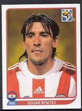 Panini Football Sticker - 2010 World Cup - No 446 - Paraguay - Edgar Benitez