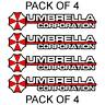 4X Umbrella Corporation Hive Resident Evil Vinyl Sticker Car Truck Window Decal