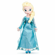 "20"" Frozen ELSA Plush Toy Doll Blue Snowflake Gown Disney Store EXCLUSIVE NEW"