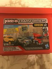 Kre-O Transformers Ultimate Vehicle Pack Bumblebee Autobot Jazz Optimus Prime