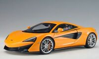 76044 AUTOart 1:18 McLaren 570S (Orange) model cars