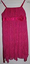 NWT IZ Amy Byer Pink Sequin Dress Size 14.5