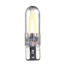 1x T10 194 168 W5W COB LED CANBUS Silica Bright Glass License Light White Bulbs