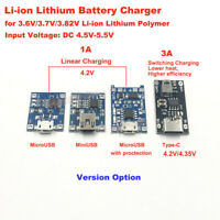 Micro/Mini USB 5V 1A Lithium Li-ion 18650 Battery Charger Module Charging Board