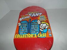 New Moose Mighty Beanz Collectors Case Holds 60 Beans (sealed)