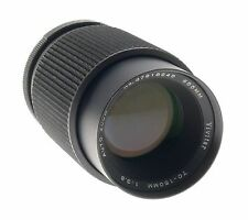 VIVITAR 70-150mm f/3.8 CLOSE FOCUSING AUTO ZOOM CAMERA LENS 55mm DIAMETER