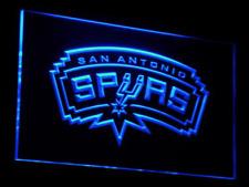New Custom San Antonio Spurs LED Neon Light Signs Bar Man Cave 7 colors u choose