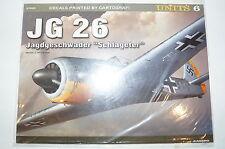WW2 German JG 26 Jagdgeschwader Schlageter Kagero 97006 Units 6 Reference Book