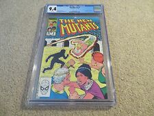 New Mutants #9 1st App Selene CGC 9.4 1983 Marvel White Pages See My Store