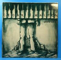 CEDAR WALTON PIANO SOLOS LP 1981 ORIGINAL PRESS GREAT CONDITION! VG++/VG++!!