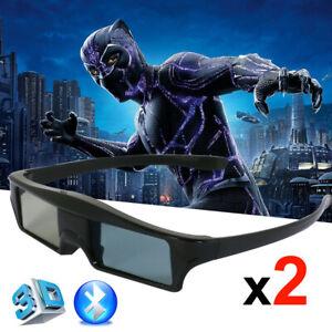 2x Blue-tooth Aktive 3D Brille für Epson Beamer TW8200,9100,6600,5020UB,9300 USB