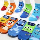 Funny Disney Character Socks Girls Womens Big Kids Cute Monster Cartoon Socks