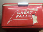 Rare Vintage Great Falls Select Beer Cooler ~ Brewery  ~ Great Falls, MT.