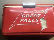 New listing Rare Vintage Great Falls Select Beer Cooler ~ Brewery ~ Great Falls,Mt.