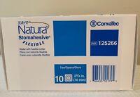 """CONVATEC 125266 Sur-Fit Natura Stomahesive  Flexible 2-3/4"""" Wafer 1 BX/10 EA"""