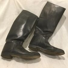 Windsor Vintage Pair of Black Leather, Equestrian Riding Boots. Sz 7.5M