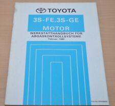 Werkstatthandbuch Toyota 3S-FE 3S-GE Motor Abgaskontrollsystem Februar 1992