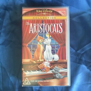 The Aristocats - Collection - Walt Disney VHS Video Tape PAL