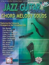 Mel Bay Jazz Guitar Standards Chord Melody Solos (Book & CD)