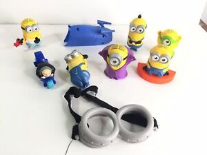 Dispicable Me Minions Toys Mcdonalds Goggles Too EUC Party Decorations Collect