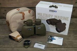Steiner Military Marine 10x50mm Porro Prism Binoculars Green MM1050 - 2035