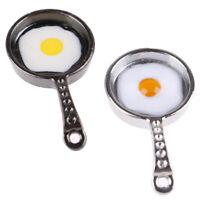 1/12 Dollhouse Miniature Mini Metal Fried Egg Pan Kitchen Accessor3CSE